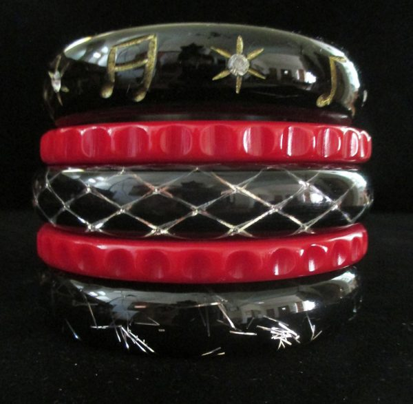 Cocktail Hour - Stack of Five Bangles