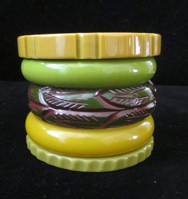 Jungle Drums - Stack of Five Bangles