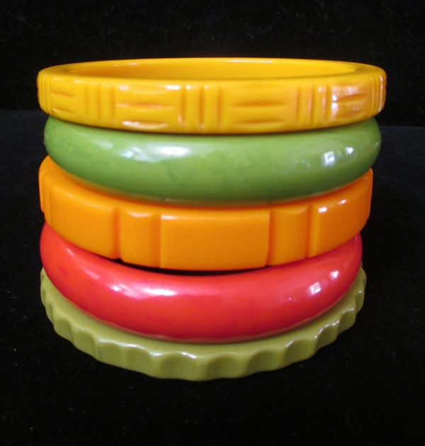 Fiesta Time - Stack of Five Bangles